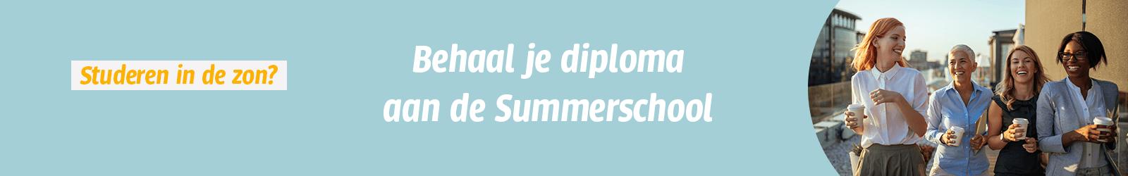 Korting summerschool